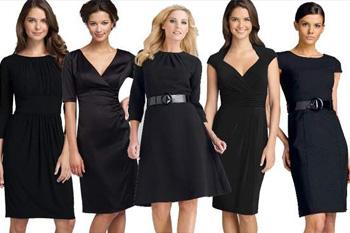 Как правильно носить маленькое черное платье?