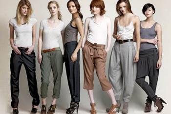 Модные тенденции по ношению брюк (продолжение)